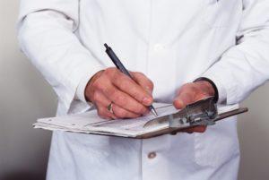 Процедура снятие побоев и получение документов